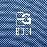 BOGI超吸水運動タオル - 100%竹繊維 - 100x 30cm - スポーツタオル RoHS認証合格 速乾タオルアウトドア/ 運動/水泳/ヨガ/登山/旅行に最適(ネイビーブルー N Blue)