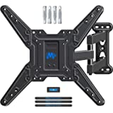 Mounting Dream Full Motion TV Wall Mounts Bracket with Perfect Center Design for 26-55 Inch LED, LCD, OLED Flat Screen TVs up