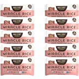 Miracle Noodle Miracle Rice - Plant Based Shirataki Rice, Keto, Vegan, Gluten-Free, Low Carb, Paleo, Dairy Free, Low Calories
