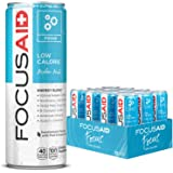 FOCUSAID Energy Blend   Contains Nootropics   Natural Caffeine   100% Clean   No Artificial Flavors, Sweeteners or Sodium   A