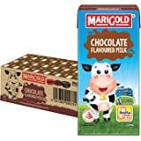 MARIGOLD Chocolate UHT Milk, Plain, 200ml, (Pack of 24)