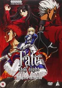Fate/stay night コンプリート DVD-BOX (全24話, 600分) フェイト/ステイナイト アニメ [DVD] [Import]