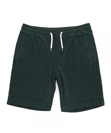 Pile Shorts 1119-133-0744: Dark Green