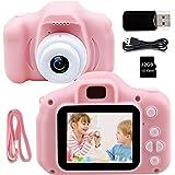 Kids Camera Children Digital Camera - Kids Camera with 32GB SD Card, HD 1080P IPS 2.0 Inch Kids Digital Camera for Girls Boys