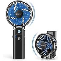 携帯扇風機 充電式 最大35時間動作 手持ち扇風機 【20dB超静音 2020年最強版】「5in1機能搭載」URHARB…