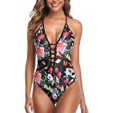 CharmLeaks One Piece Swimsuits for Women Swimwear Tummy Control Sexy Bathing Suit