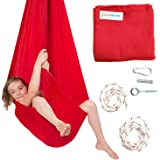 DreamGYM Sensory Swing | 95% Cotton | Hardware Included | X-Large Therapy Swing for Kids and Adults