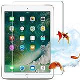 iPad Air 3(2019)/ iPad Pro 10.5 ガラスフィルム保護 強化 3D タッチ ガラス フィルム 飛散防止 指紋防止 気泡防止 撥水撥油 旭硝子 強靭9H 高透明率 ピタ貼り