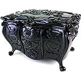 (アナスイ) ANNA SUI ビューティ ボックス A トレイ ミニドレッサー 猫足 小物入れ ビューティートレイ 黒 ブラック ロゴ 小物入れ