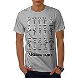 Wellcoda 代数 数学 ダンス 男性用 S-5XL Tシャツ