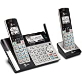 AT&T TL96273 DECT 6.0 Expandable Cordless Phone with Bluetooth Connect to Cell, Answering System and Base Speakerphone, 2 Han