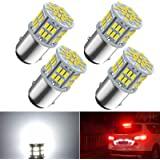 1157 Led Brake Light Bulb, 12V-24V 1157 7528 2357 2057 BAY15D LED Replacement Light Bulb for Brake Tail Running Parking Backu