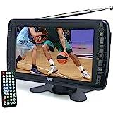 "Tyler TTV701 7"" Portable Widescreen LCD TV with Detachable Antennas, USB/SD Card Slot, Built in Digital Tuner, and AV Inputs"