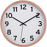 Amazonベーシック 掛け時計 数字 約30cm 銅