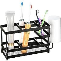歯ブラシスタンド 置き型 ステンレス製 電動歯ブラシ置き 歯ブラシホルダー 歯ブラシ立て サニタリー 洗面所 収納 ブラ…