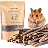 Natural Apple Sticks, 300g Treats Food for Small Animals, Chew Toys for Chinchilla Guinea Pigs Rabbit Squirrel Hamster Bunny