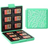 Hard Shell Box for Switch, Portable & Thin Game Card Case, Protective Shockproof Cartridge Holder Carrying Storage Case Box w