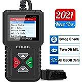 OBD2 Scanner YA-101 Enhanced OBDII Diagnostic Scan Tool Automotive Code Reader Checks Engine Light,O2 Sensor and EVAP Systems