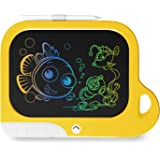 TEKFUN Toys for Toddler Girls Age 3-9, Kids Learning Toys LCD Writing Tablets 8.5 Inch, Electronic Doodle Board Drawing Pad f