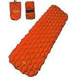 AstiVita Camping Sleeping Pad - Mat, (Large), Ultralight 480g, Best Sleeping Pads for Backpacking, Hiking Air Mattress - Ligh