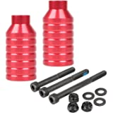"""Kutrick Pro Scooter Pegs Set with Axle Hardware 2.5"""", 3.0"""",3.5"""" for Freestyle Scooter Grinds"""