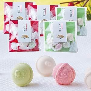 和三盆糖 干菓子 寿 お祝い用 阿波和三盆糖 5袋 プレゼント 結婚式 プチギフト 赤台紙