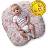 Boppy Newborn Lounger—Original | Lightweight Plush Chair with Carrying Handle | Infant Seat for Awake Time | Wipeable and Mac