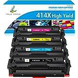 True Image Compatible Toner Cartridge Replacement for HP 414X 414A W2020X W2020A Laserjet Pro MFP M479fdw M479fdn M479 Laserj