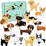 CiyvoLyeen Puppy Craft Kit Kids DIY Crafting and Sewing Set Dog Stuffed Animal Felt Plushie for Girls and Boys Educational Be