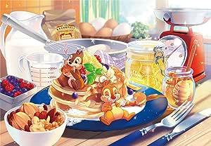 1000ピース ジグソーパズル ディズニー あま~い誘惑(51x73.5cm) 【ピュアホワイト】