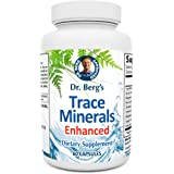 Dr. Berg's Trace Minerals Enhanced Complex - Complete with 70+ Nutrient-Dense Health Mineral - 100% Natural Ingredients - Die