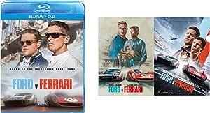 【Amazon.co.jp限定】フォードvsフェラーリ ブルーレイ+DVDセット(オリジナルクリアファイル付き) [Blu-ray]