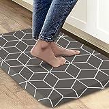 Kitchen Rugs Mat Anti Fatigue Comfort Cushion Floor Mats, Non Slip Waterproof Kitchen Mats, Suitable for Kitchen, Laundry, Ba