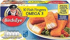 Birds Eye Omega 3 Fish finger, 10 Count - Frozen