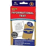 Edupress Reading Comprehension Practice Cards, Informational Text, Blue Level (EP63438)