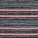 ハーフカットクロス marimekko(マリメッコ) 約70×50cm RASYMATTO(ラシィマット) ピンク×ブラック
