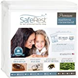 "(King, 9-12"" Deep) - SafeRest Waterproof Lab Certified Bed Bug Proof Zippered Mattress Encasement - (Fits 23cm - 30cm . H) -"