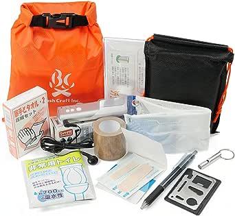 Bush Craft Inc. ブッシュクラフト 携帯非常袋/防災袋 【Sx】