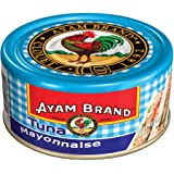 Ayam Brand Tuna Mayonnaise 160g | Wild Caught Premium Tuna | Halal & Healthier Choice | No Preservatives or Additives