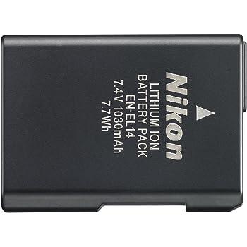 Nikon Li-ion リチャージャブルバッテリー EN-EL14