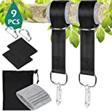 Tree Swing Straps, GeeRic Hammock Hanging Strap Kit 1.5M Long Yoga Hanging Straps Adjustable Holds Up to 2000lbs/500T with Ca