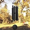 Astarin Wind Chimes Outdoor Large deep Tone, 38 Inch Memorial Wind Chimes with 8 Tuned Tubes,Outdoor Wind Chime for Garden, Y
