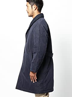 Insulated Loden Coat 11-19-0643-187: Navy