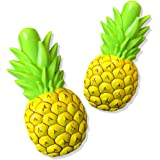 O2COOL BocaClip - Pineapple Boca Clip, 1-Pack, 2 Count