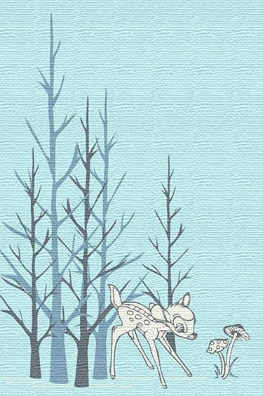 ディズニー  iPhone/Androidスマホ壁紙(640×960)-1 - バンビ
