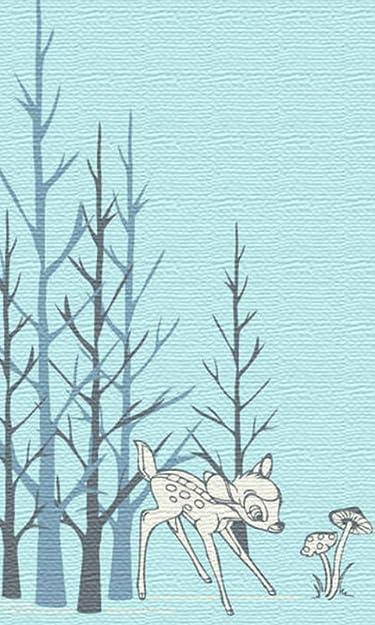 ディズニー  iPhone/Androidスマホ壁紙(480×800)-1 - バンビ
