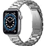 Spigen Apple Watch 44mm 42mm Strap Modern Fit - Silver