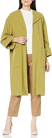 [ミラオーウェン] ラペルカラーボックス袖コート 09WFC211300 レディース