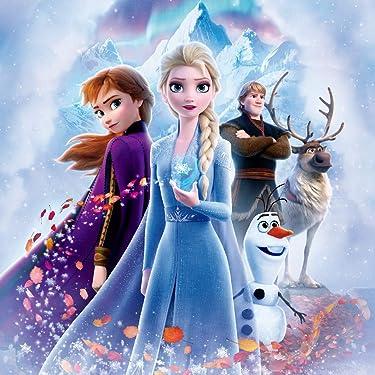 ディズニー iPad壁紙 or ランドスケープ用スマホ壁紙(1:1)-1 - 『アナと雪の女王2』