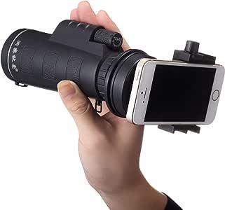 YOKINO 人気 単眼鏡 高倍率 望遠鏡 1600m/9600m視野 10X40倍 撮影可 クリップ式 キットセット 望遠レンズ 携帯カメラレンズ 携帯電話の望遠鏡 カメラレンズキット スマホレンズ 望遠ズームレンズ 取り外し可能 360度回転可能 横幅調節 脱落防止 携帯カメラ ズーム望遠鏡 HDレンズ 光学 望遠鏡 ナイトビジョン 小型 軽量 強力 各種スマートフォン対応 運動会/コンサート/ 旅行に